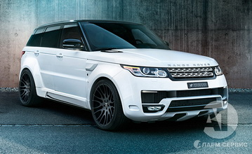 HAMANN WIDEBODY for Range Rover Sport 2014
